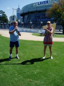 Foto Pap en Wilma in Australië