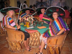 Freddie en Margaretha in Mexico