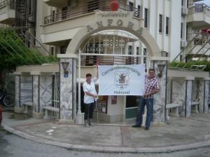 Leon en Hennie Sleegers in Alanya Turkije