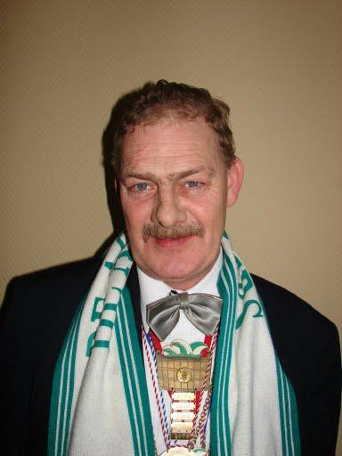 Vrijwilliger 2008 Jan van de Steen